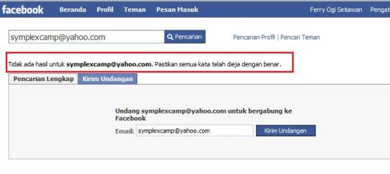pencarian facebook nihil